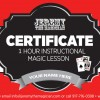 Magic Lesson Gift Certificate